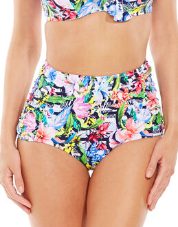 figleaves Luau High-Waisted Tummy Control Brief