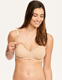 Cake Croissant Flexi Wire Moulded Nursing Bra