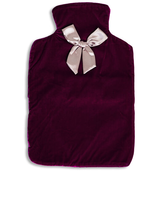Ruby&Ed Velvet Hot Water Bottle