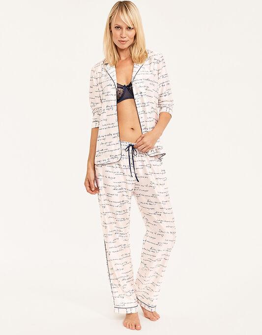figleaves Andie Satin Pyjama Set