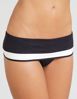 Huit Sunset Stripes Fold Bikini Brief