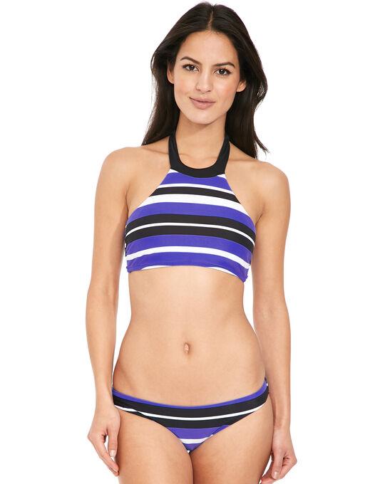 Seafolly Walk The Line High Neck Tank Bikini Top
