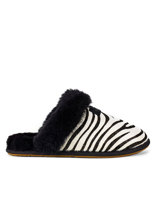 Scuffette Exotic Mule Sheepskin Slipper