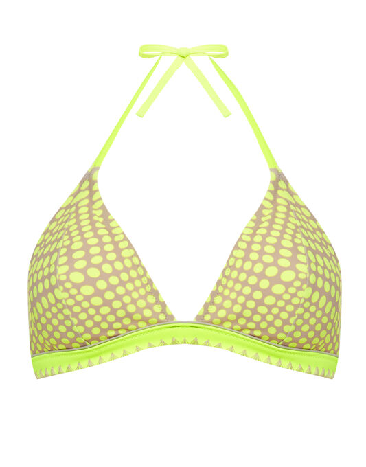 figleaves East Coast Padded Halter Triangle Bikini Top