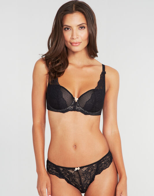 Lace High Apex Padded Bra (B-G)