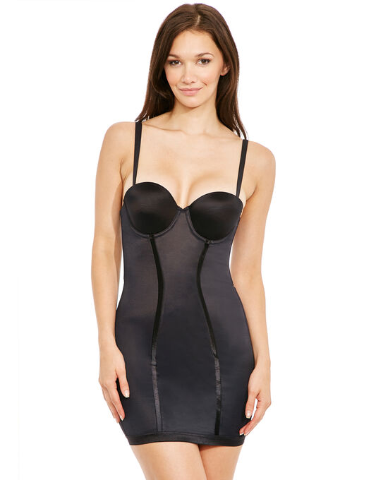 Maidenform Easy-Up Strapless Full Slip