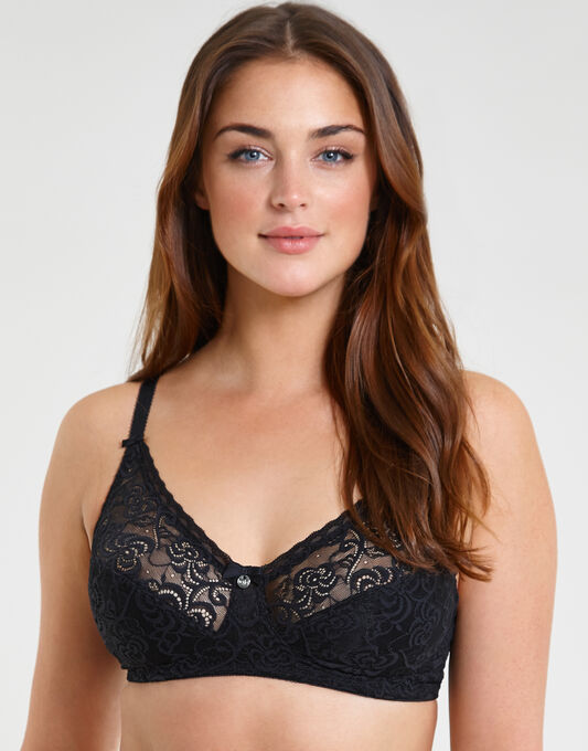 Heaven Lace Non-Wired Bra