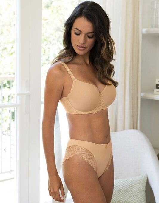 Rebecca Lace Full Cup Breathable Bra