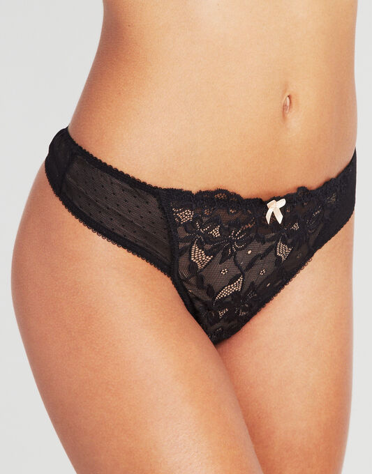 figleaves Lace Thong
