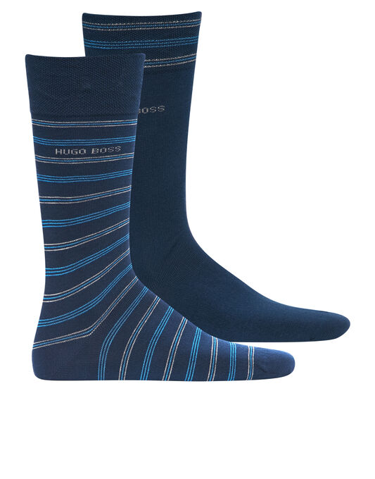 Stripe 2 Pack Socks