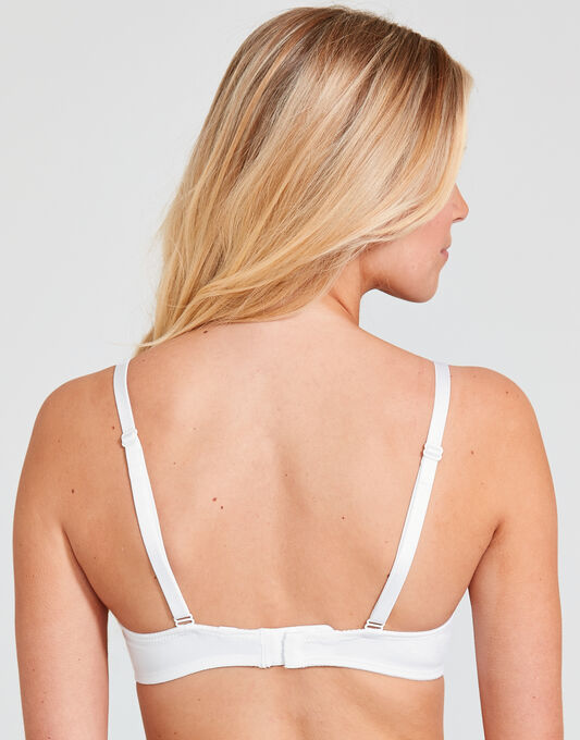 Chantelle Basic Invisible T-shirt Bra With Crossover Straps