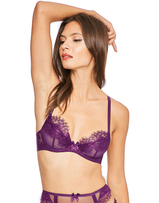 L'Agent by Agent Provocateur Idalia Non Padded Demi Cup Bra