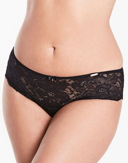 figleaves curve The Rose Lace Midi Brazilian Briefs