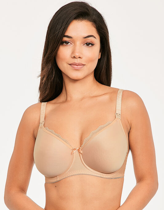 Freya Pure Flexi-wire Moulded Nursing Bra