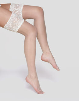 Charnos Hosiery 10 denier Bridal lace hold up
