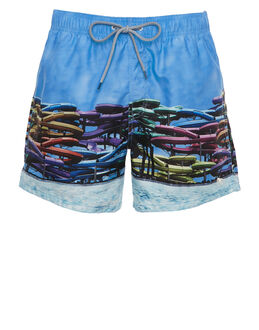 Ted Baker Slides Photographic Swim Short