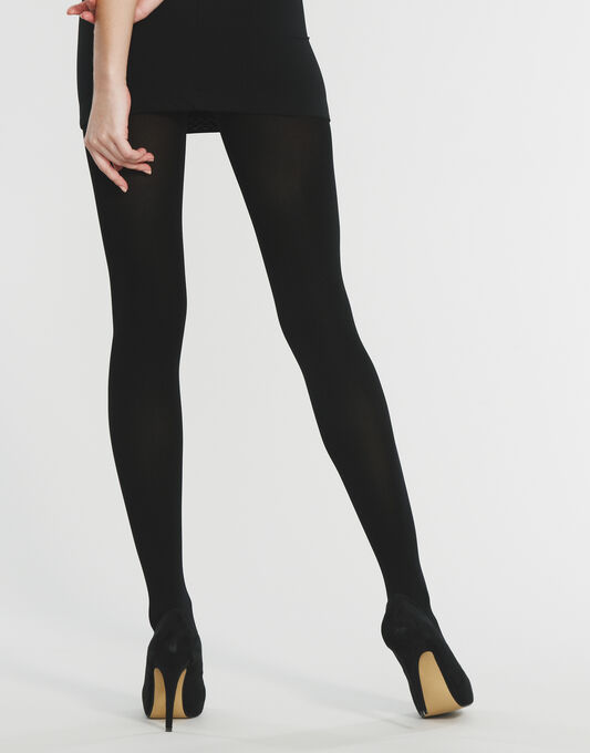 100 Denier Velvet Opaque Tight