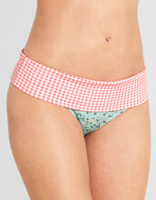 Flower Garden Fold Bikini Brief
