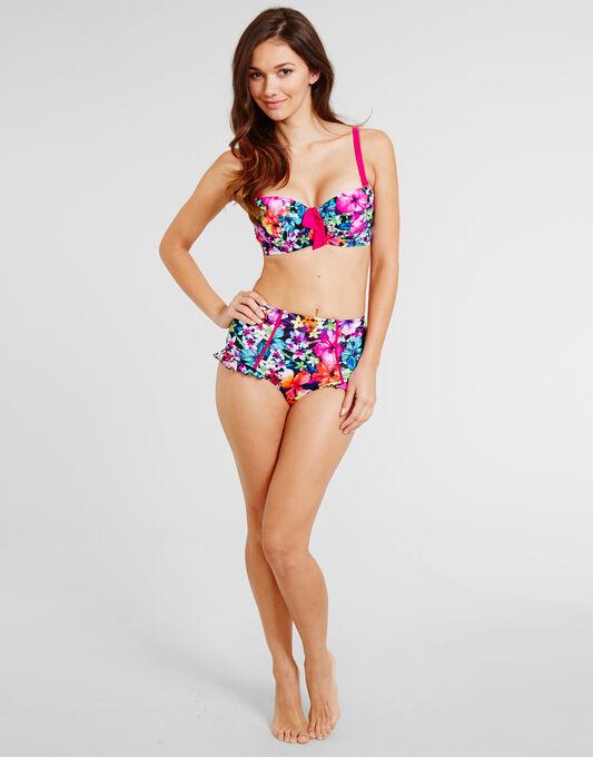 Pour Moi? Polynesia Padded Balconette Bikini Top