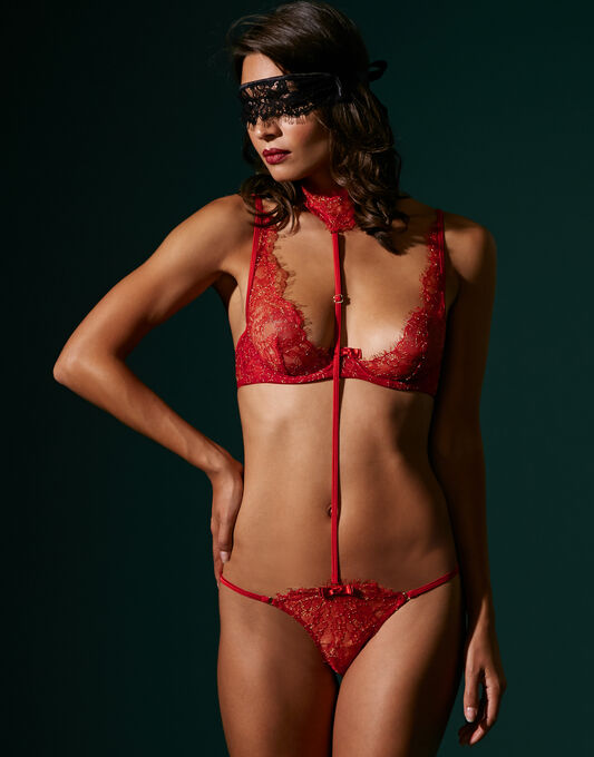 Maison Close Jardin Imperial Harness For Panty
