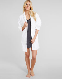 DKNY Signature Collection Terry Robe