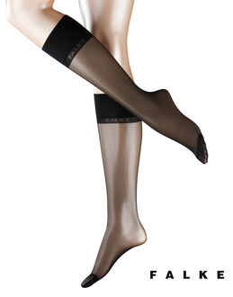 Falke Pure Matt 20 Sensitive Top Knee Highs