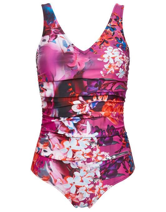 Pour Moi? Hot Tropics Control Swimsuit
