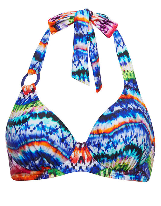 figleaves Lima Underwired Halter Bikini Top