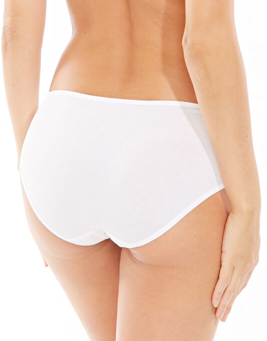 figleaves Comfort Caress Cotton-Modal 2 Pack Knicker
