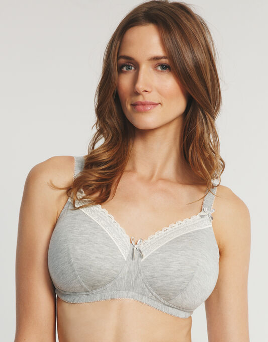 Chloe Grey Marl Mastectomy Bra