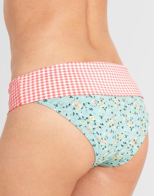 Flower Garden Fold Bikini Brief