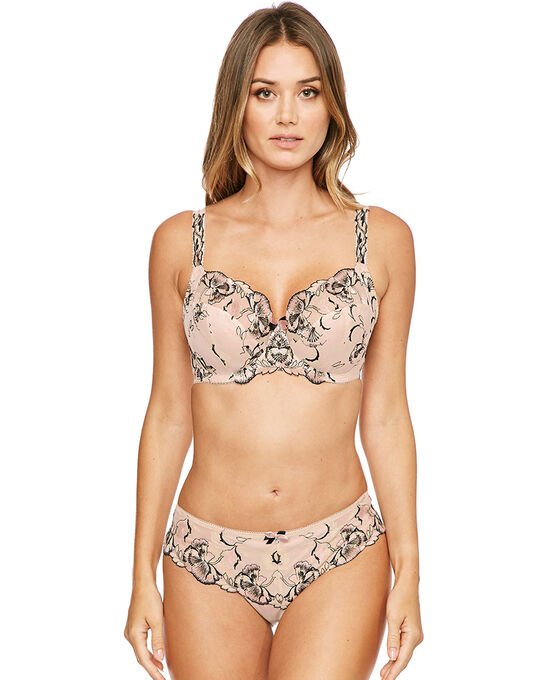 Angelina Underwired Side Support Bra