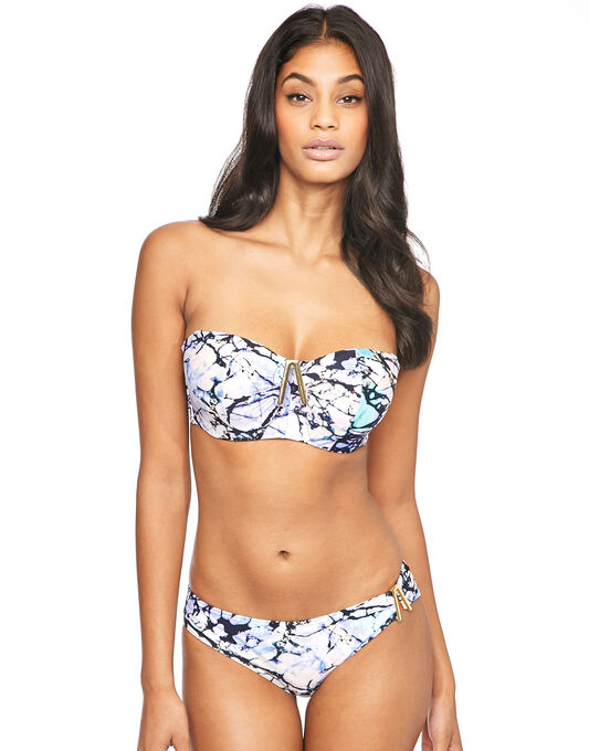 Leisou Underwired Bandeau Bikini Top