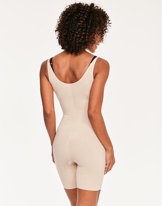 Spanx Thinstincts Open-Bust Mid-Thigh Bodysuit