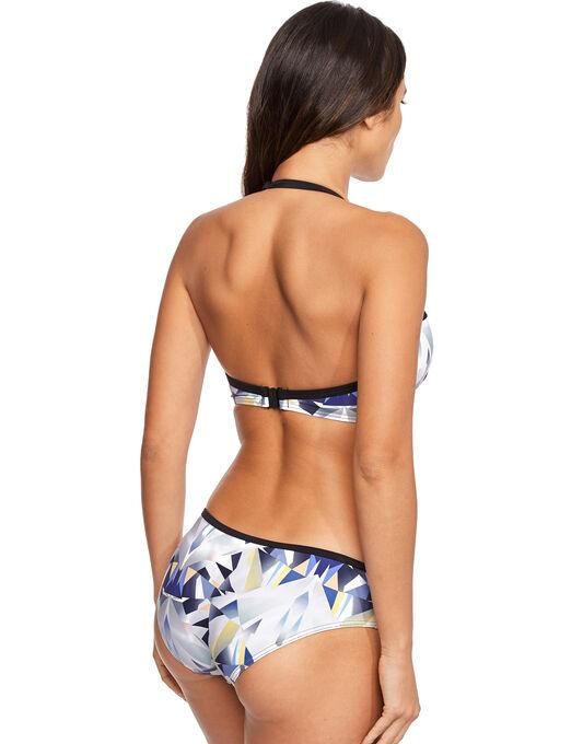 figleaves Low Fi Underwired Halter Bikini Top