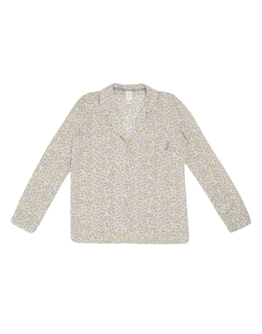Calvin Klein Woven Viscose Long Sleeve Top