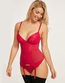 figleaves Juliette Lace Basque