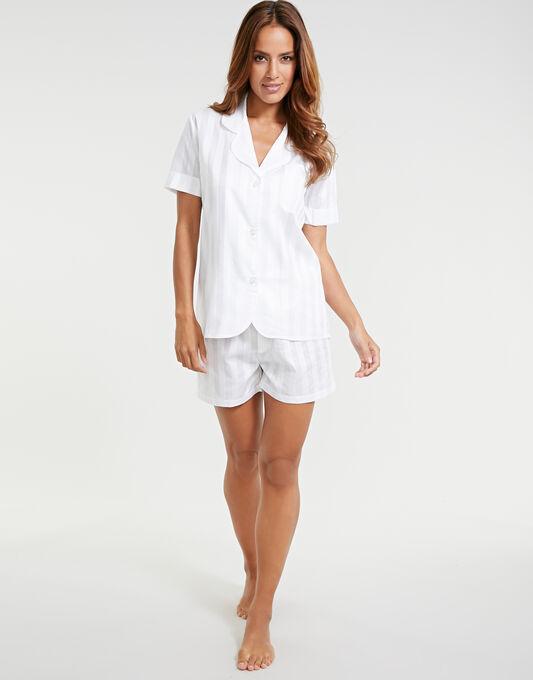 Bodas Cotton Nightwear Short Sleeve PJ Top