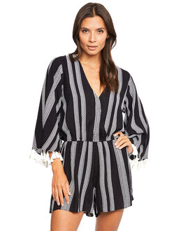 Seafolly Island Vibe Jacquard Stripe Playsuit