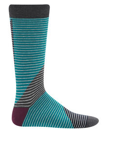 Ted Baker Cooper Colour Block Stripe Organic Cotton Sock
