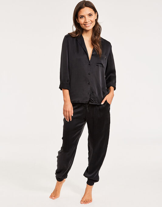Calvin Klein CK Black Excite Silk PJ Set