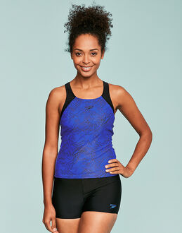Speedo Fit Bloom Allover Tankini