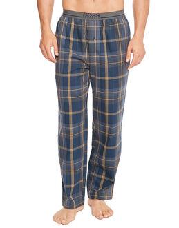 BOSS Black Brushed Woven Pyjama Pant
