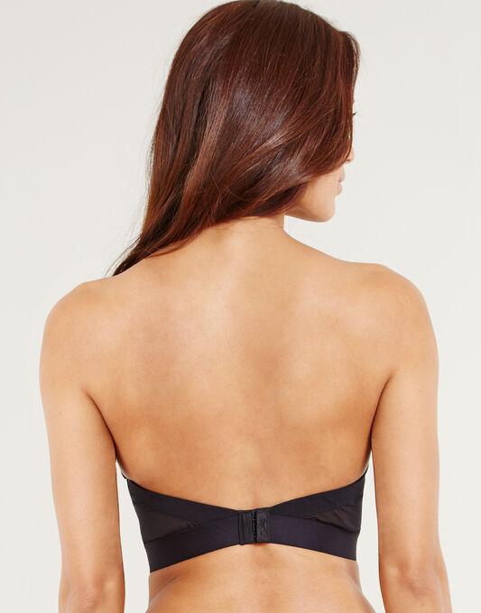 Icon Low Back Strapless Bra