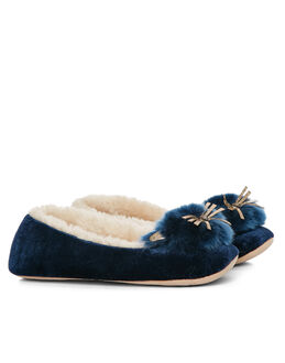 Ruby&Ed Midnight Whiskers Ballerina Slippers
