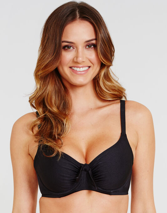 Azure Non Padded Underwired Bikini Top