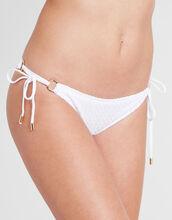 Greece Crochet Tie Side Bikini Brief