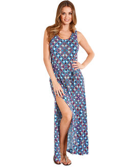 figleaves Tiki Beach Jersey Maxi Dress