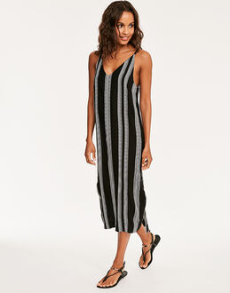 Seafolly Island Vibe Jacquard Stripe Dress
