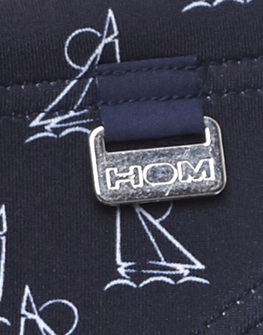 Hom Largo Boat Print Swim Micro Brief